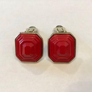 5/$25 🥁 Vintage Costume Jewelry Clip-On Earrings